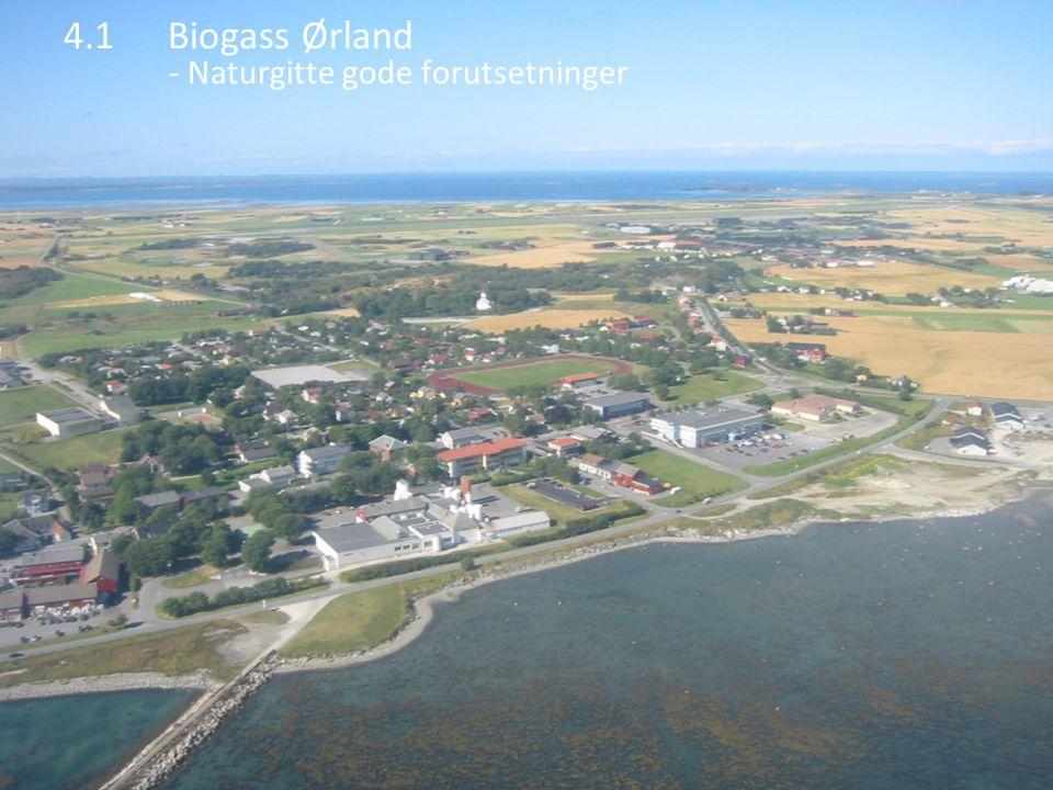4.1Biogass Ørland - Naturgitte gode forutsetninger