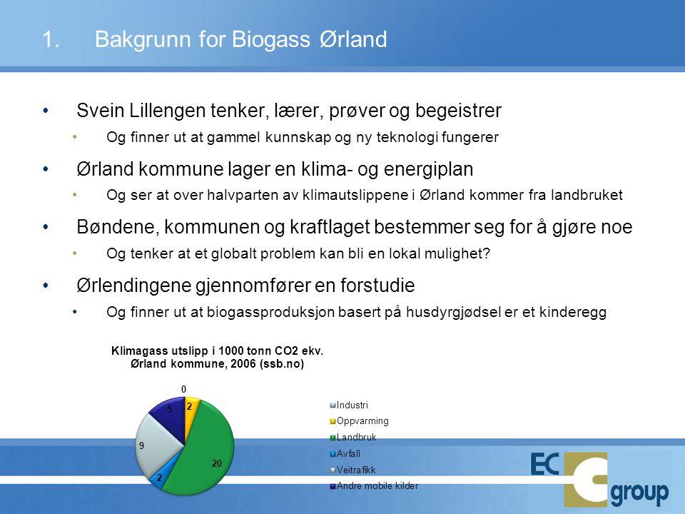 •Svein Lillengen tenker, lærer, prøver og begeistrer •Og finner ut at gammel kunnskap og ny teknologi fungerer •Ørland kommune lager en klima- og ener