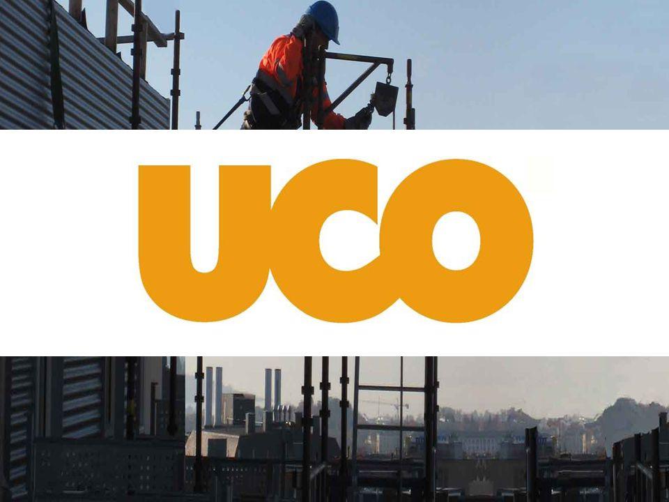 Utfyllende produktoversikt finnes på www.uco.no Utleiekatalog og prisliste • Detaljert produktoversikt • Veiledende priser • Nyttig informasjon • Avdelingsoversikt Lastes ned på: www.uco.no