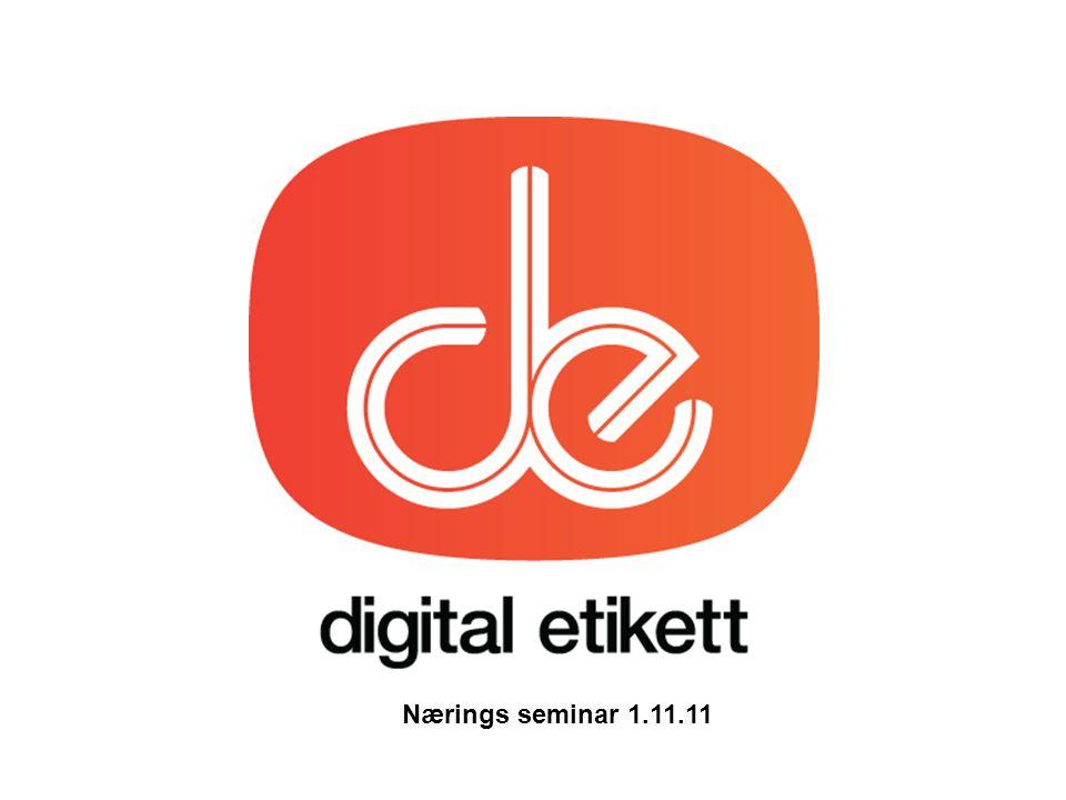 Nærings seminar 1.11.11