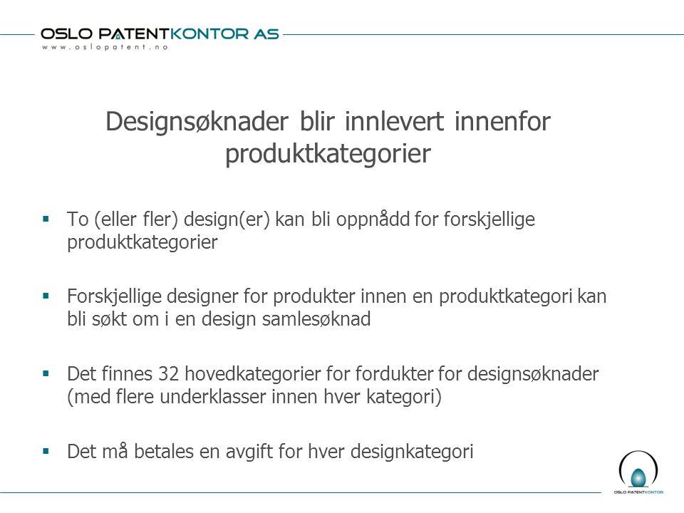 Patenter gir et konkurransefortrinn  Et patent gir et monopol for patentinnehaver (for den relevante oppfinnelse innenfor omfanget av patentkravene)  Patentrettigheter må bli tatt hensyn til av konkurrenter  Det finnes en økende generell internasjonal trend for innlevering av både hjemlige og internasjonale patentsøknader