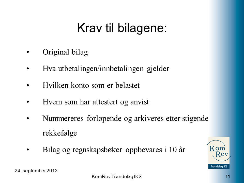 KomRev Trøndelag IKS 24.