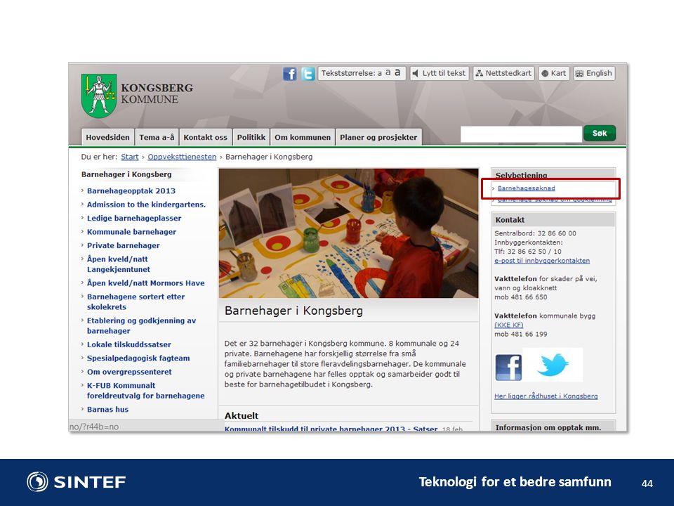 Teknologi for et bedre samfunn 44