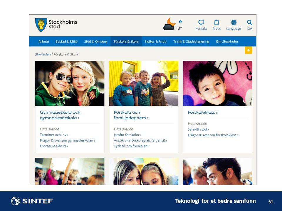 Teknologi for et bedre samfunn 61