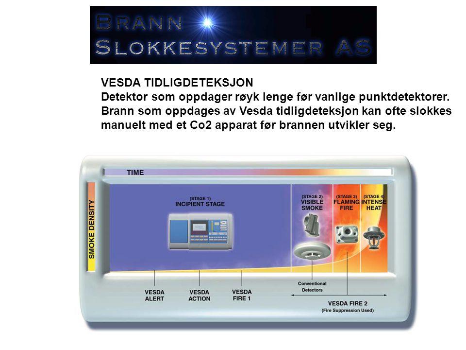 SLOKKESENTRALER Slokkesentralen er selve hjernen i slokkesystemet.