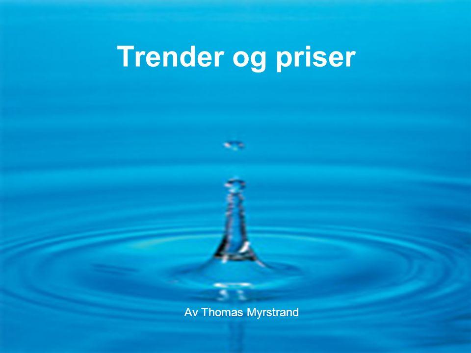 Flaske- eller springvann F1-13-0612 Trender og priser Av Thomas Myrstrand