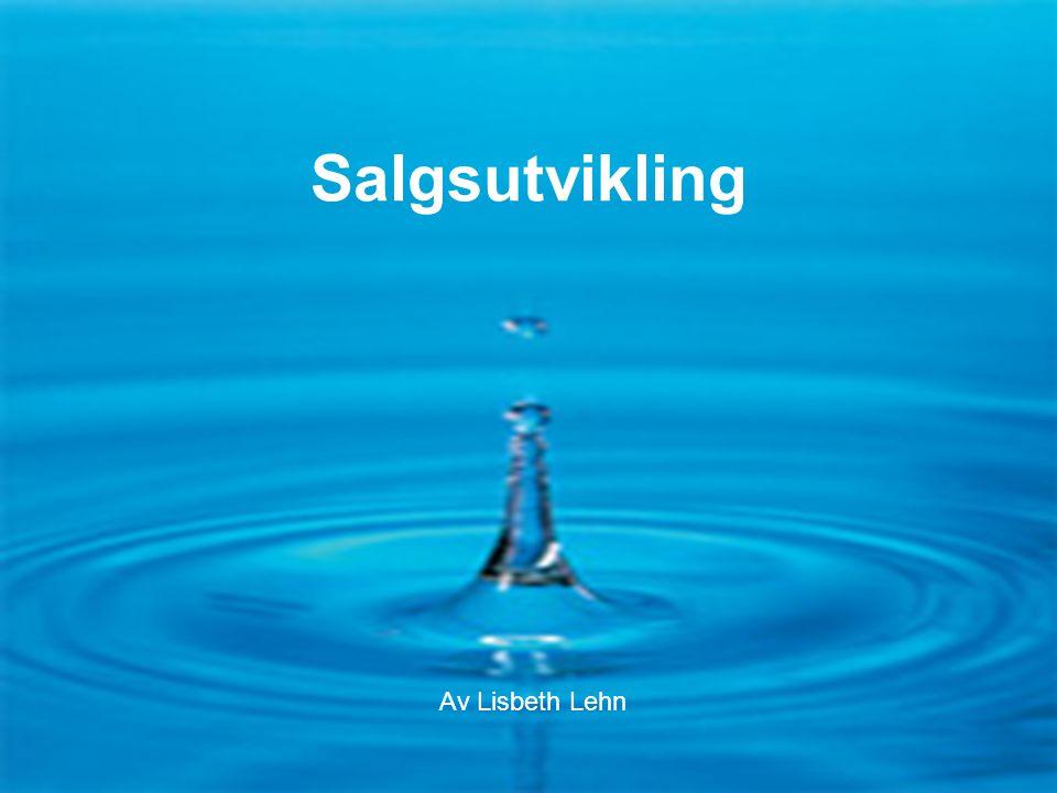 Flaske- eller springvann F1-13-0616 Salgsutvikling Av Lisbeth Lehn