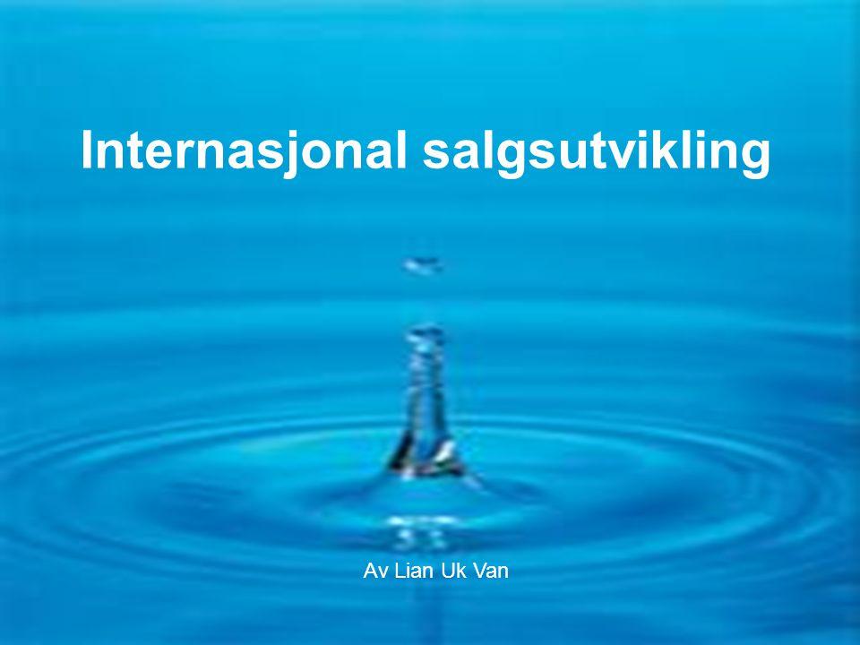 Flaske- eller springvann F1-13-0627 Internasjonal salgsutvikling Av Lian Uk Van