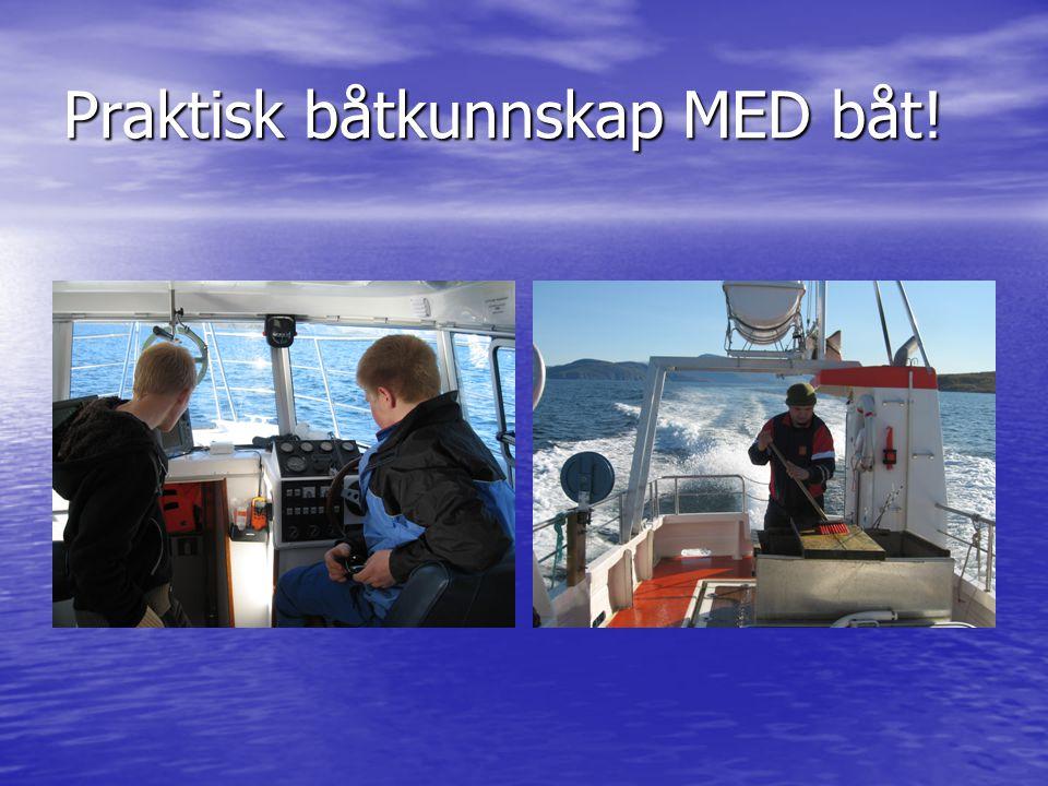 Praktisk båtkunnskap MED båt!