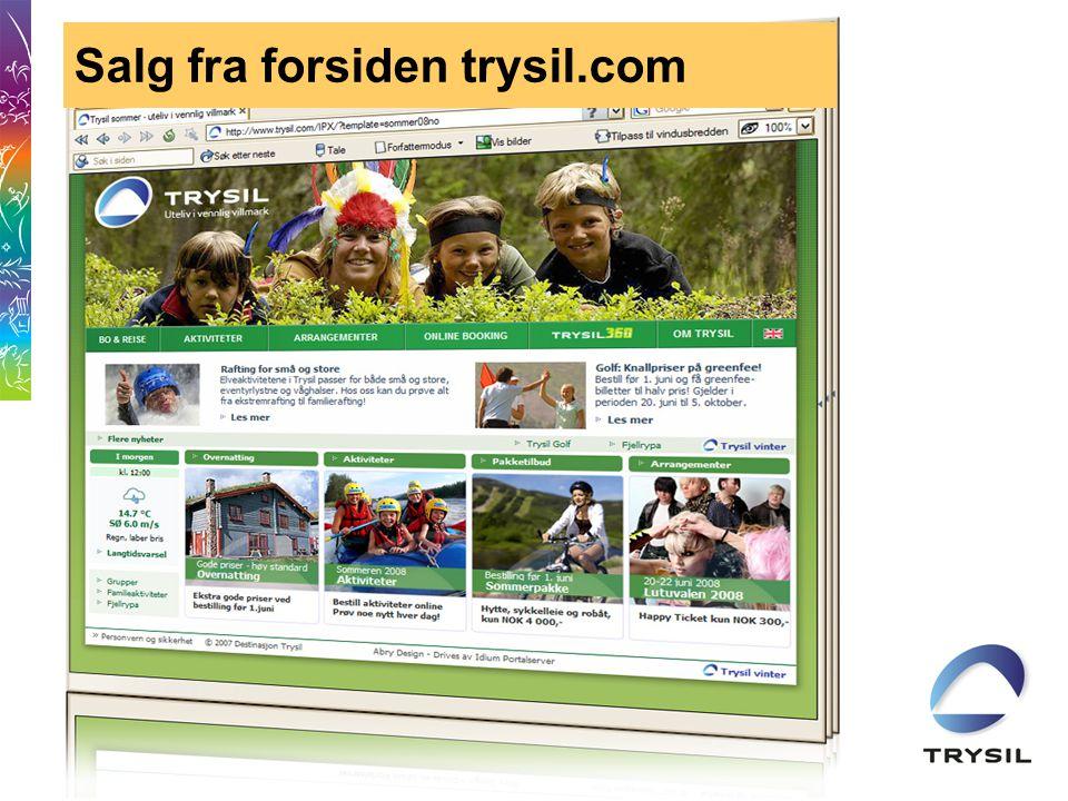 Salg fra forsiden trysil.com