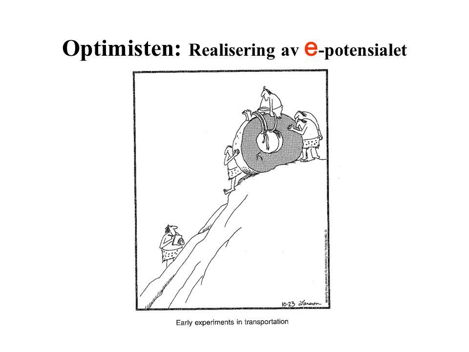 Optimisten: Realisering av e -potensialet