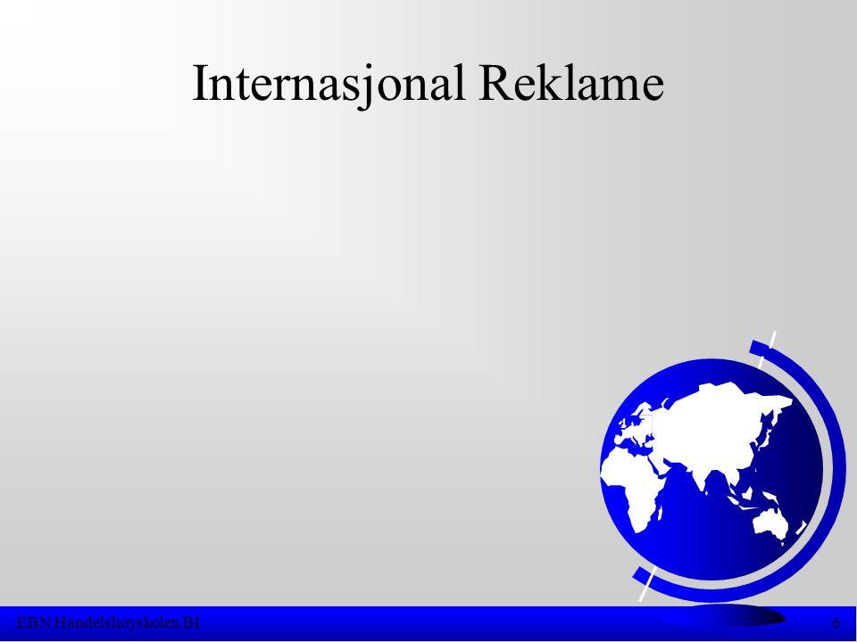 EBN Handelshøyskolen BI6 Internasjonal Reklame