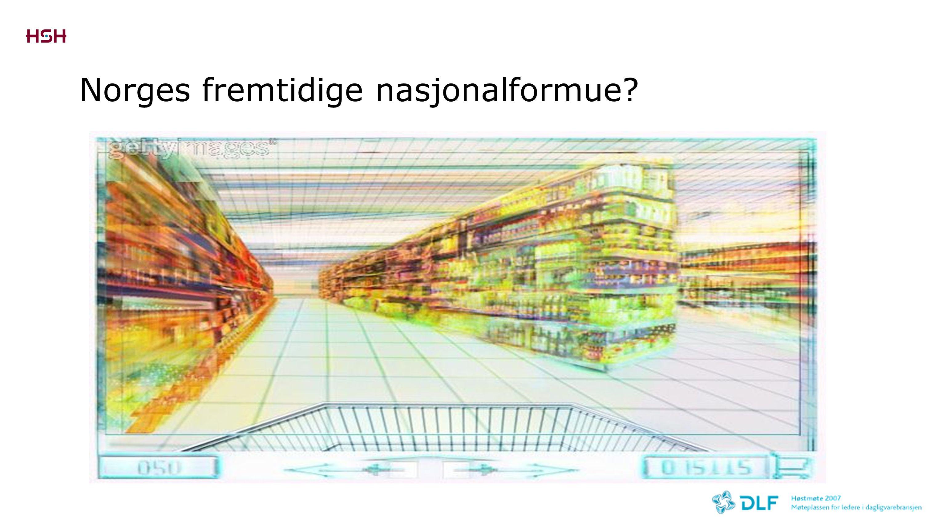 Norges fremtidige nasjonalformue?