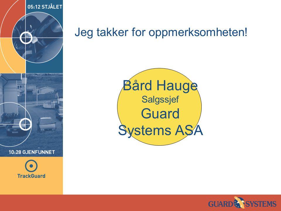 Pressemelding Jan Erik Larssen tester ut TrackGuard.