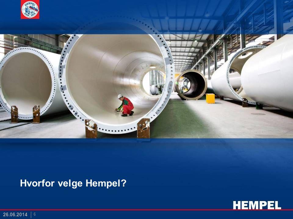 Hvorfor velge Hempel? 6 26.06.2014