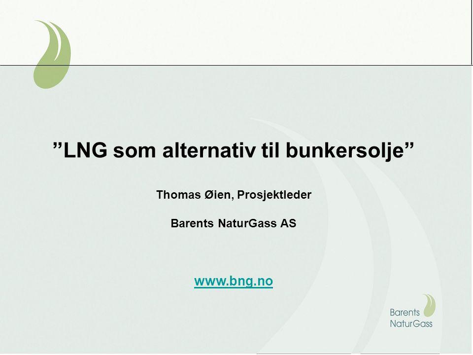 Utgangspunktet: – Naturgass tilgjengelig i Nord-Norge Foto: Eiliv Leren