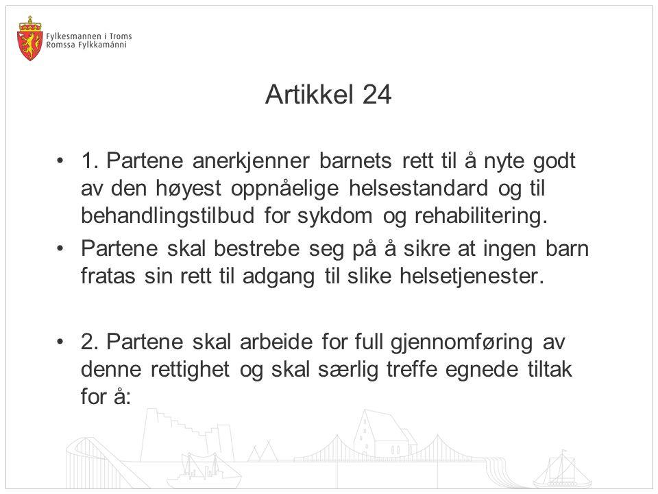 Artikkel 24 •1.