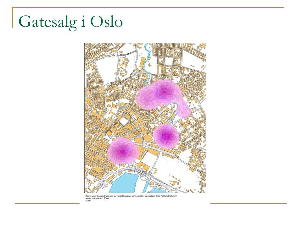 Gatesalg i Oslo