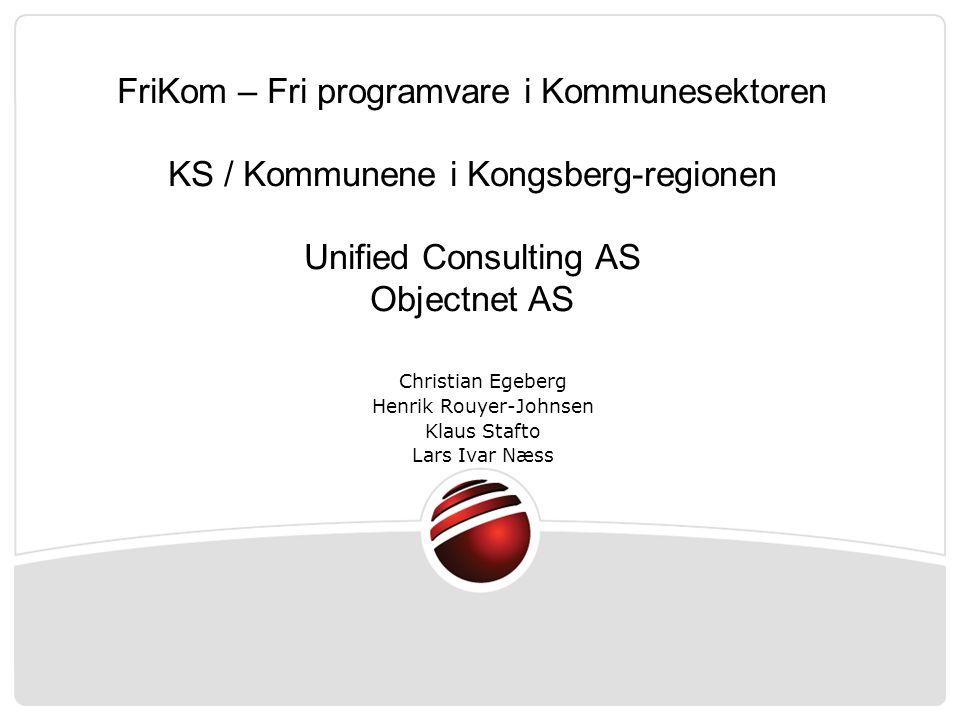 AGENDA: Presentasjon / Innledning generelt leverandørens organisasjon Prosjektet Gjennomføring Innhold Teknologi Kontrakt
