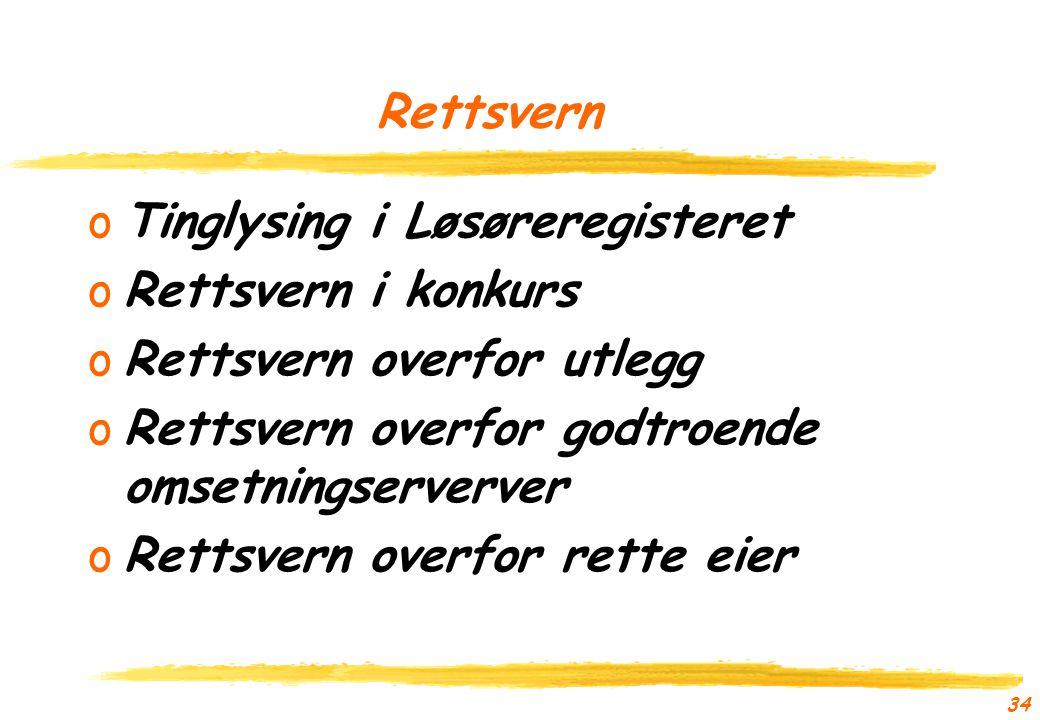 33 Alternative tilnærminger oIkke praktisk med begrensning til avdeling og/eller formuesgode oPant i aksjene oPant i betalingsstrømmen fra selskapet oPant i selskapsformuen (ikke i Norge)
