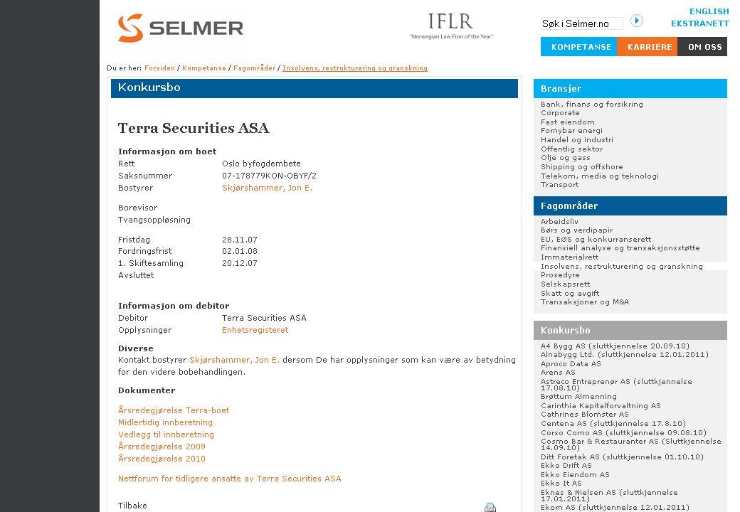 68 Noen vanlige innvendinger mot beslag oDebitor har blitt tilført et formuesgode Rt 2000 1360 Lena maskin oKreditor har ikke villet gi kreditt oDebitors eiendomsrett er ugyldig oDebitors eiendomsrett er betinget av motytelse oDebitors eiendomsrett må vike for kontraktsrettslige hevingskrav (jfr kjl § 54(4) etc)
