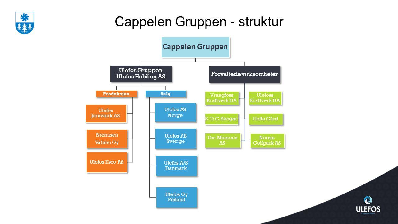 Cappelen Gruppen - struktur