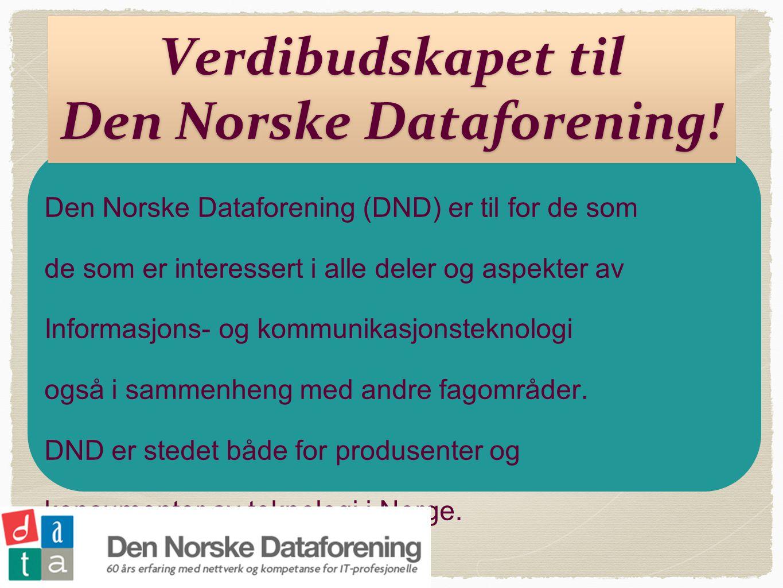 Verdibudskapet til Den Norske Dataforening.