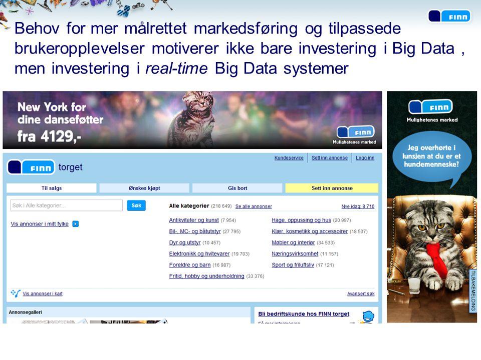 Fremover vil bedre innsikt om brukerne og kundene bli vel så viktig som annonsene på FINNs markedsplasser