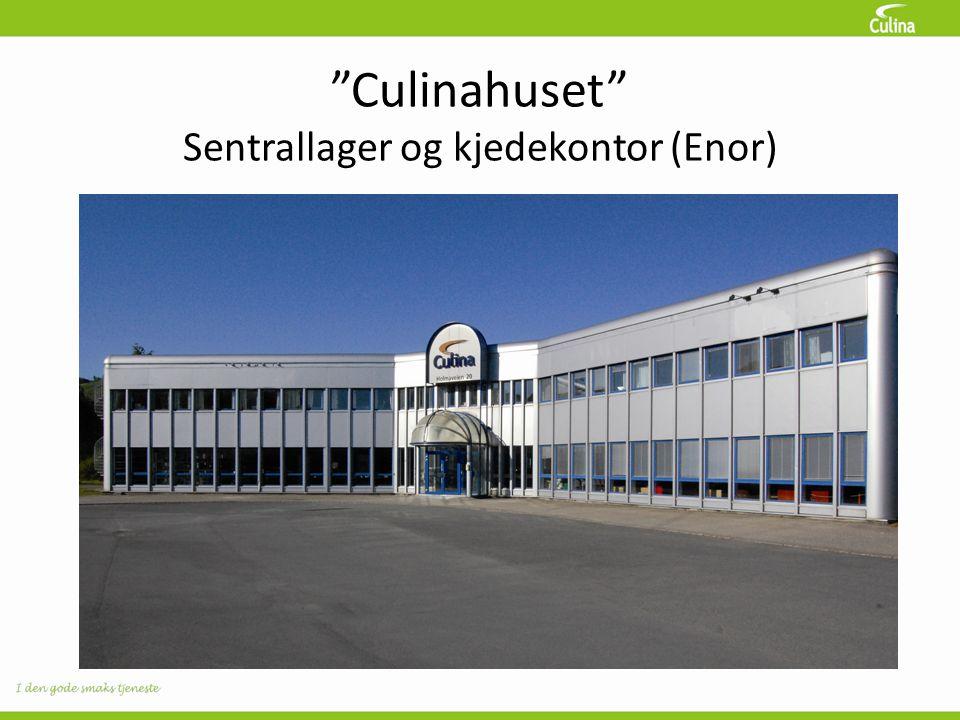 """""""Culinahuset"""" Sentrallager og kjedekontor (Enor)"""