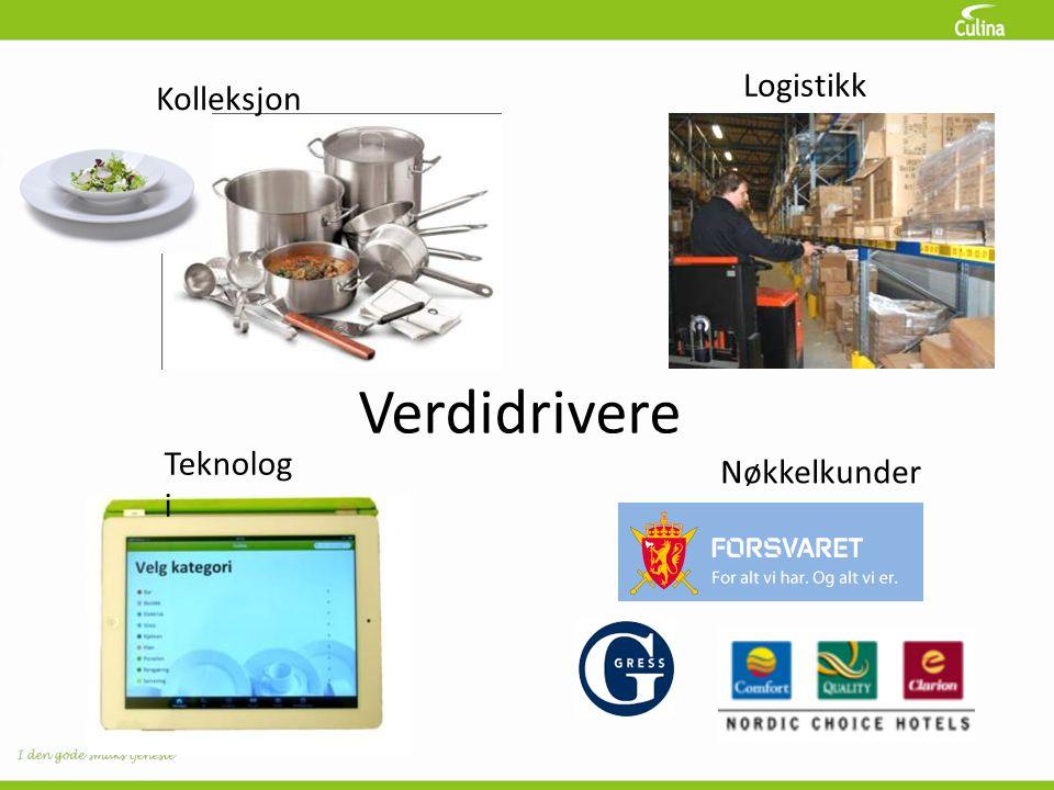 Verdidrivere Kolleksjon Logistikk Teknolog i Nøkkelkunder