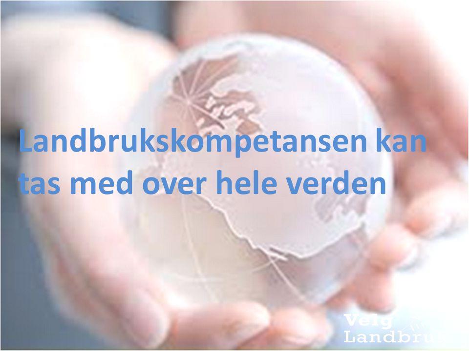Rådgivere med landbrukskompetanse er etterspurt av både offentlige etater og private bedrifter Miljøfagene kan komme til å spille en like stor rolle for norsk næringsliv i årene framover som teknologifagene.