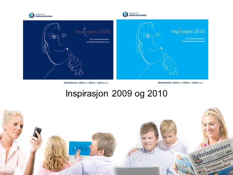 Inspirasjon 2009 og 2010