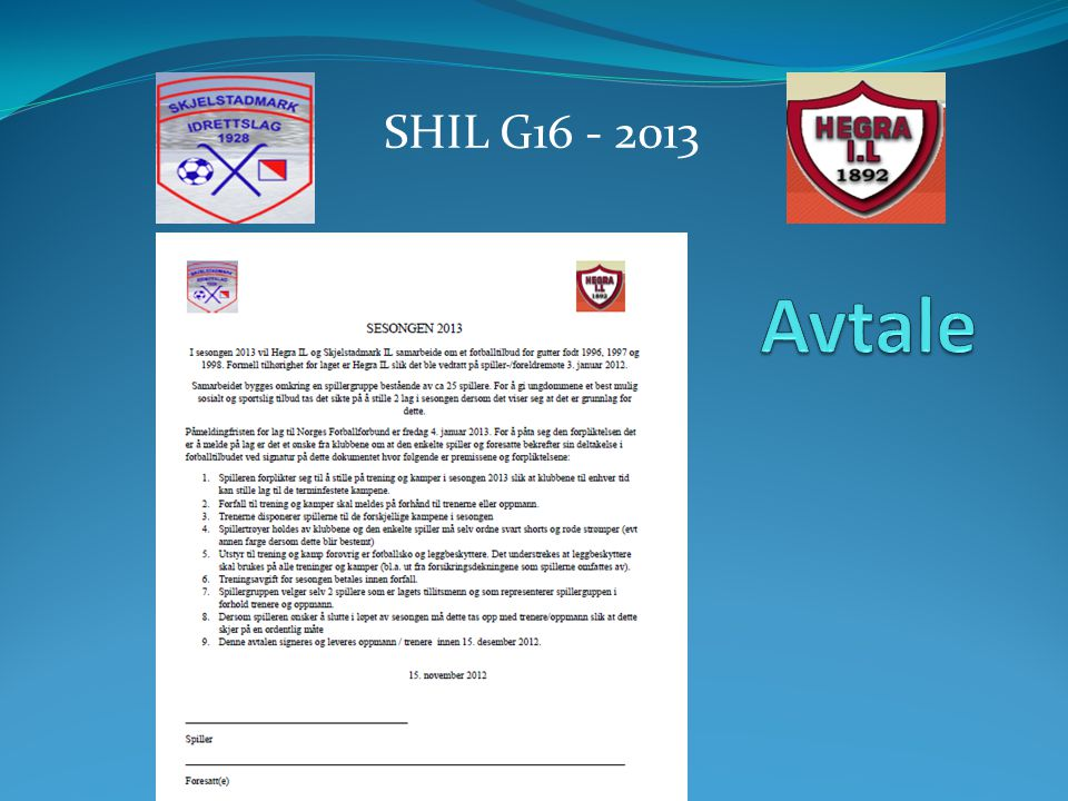 SHIL G16 - 2013