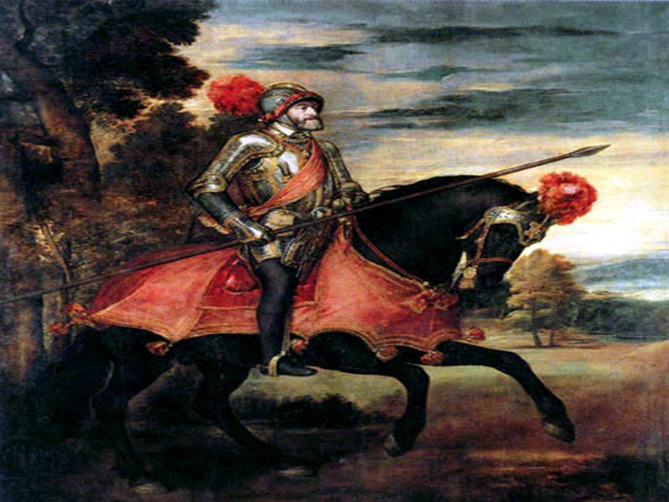 Religionskriger O I 1519 overtok Karl V av Spania som tysk keiser O Han var stor tilhenger av den katolske kirke, og gikk til krig mot mange stater i