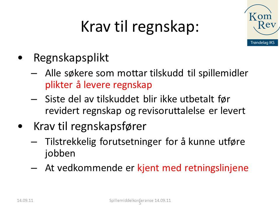 16 2010: • 80 søknader • Søknadssum 18 mill.kr • Dvs.