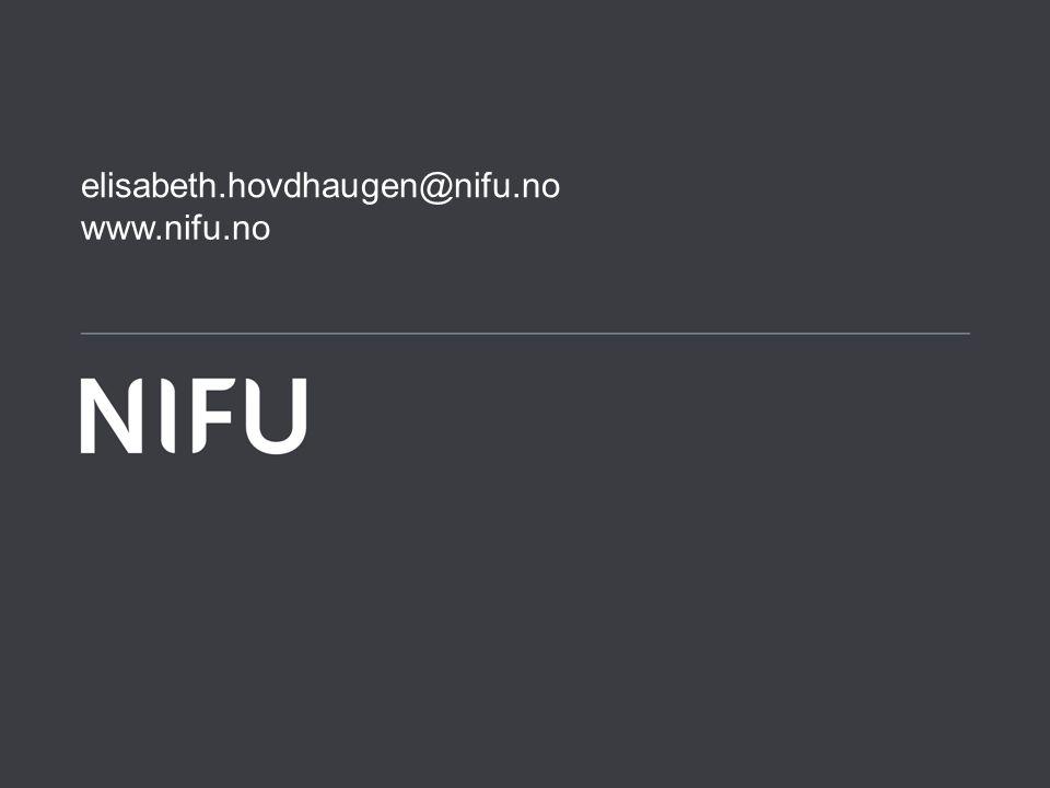 www.nifu.no elisabeth.hovdhaugen@nifu.no