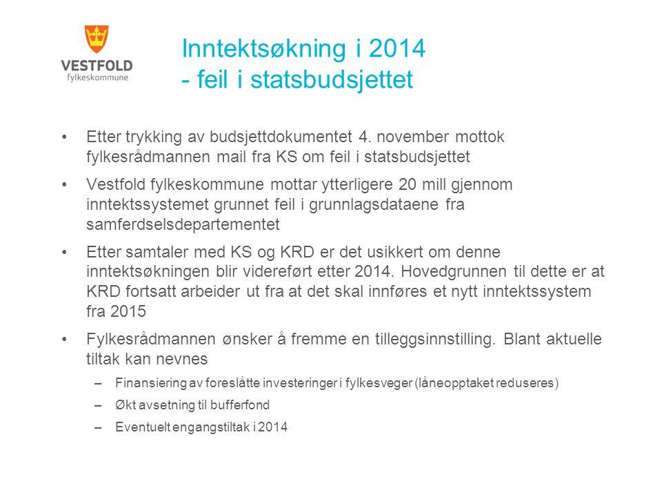 Økonomiplan 2014-2017 – Innstilling 3.Følgende resultatmål vedtas: 4.Fylkestinget får framlagt egen sak med resultatmål for samferdsel i løpet av våren 2014.