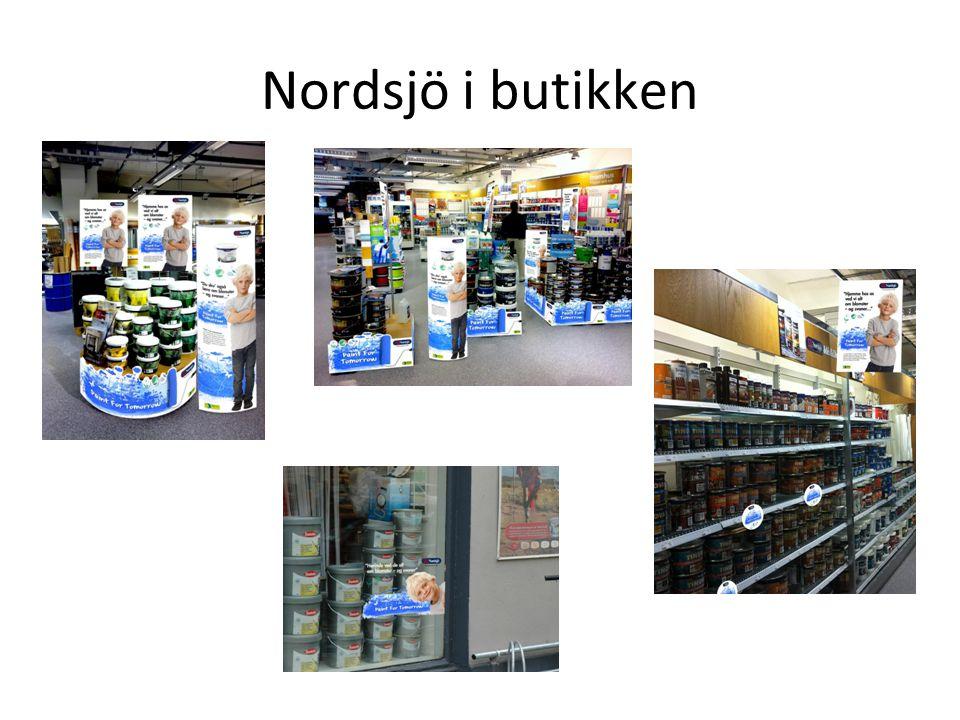 Nordsjö i butikken