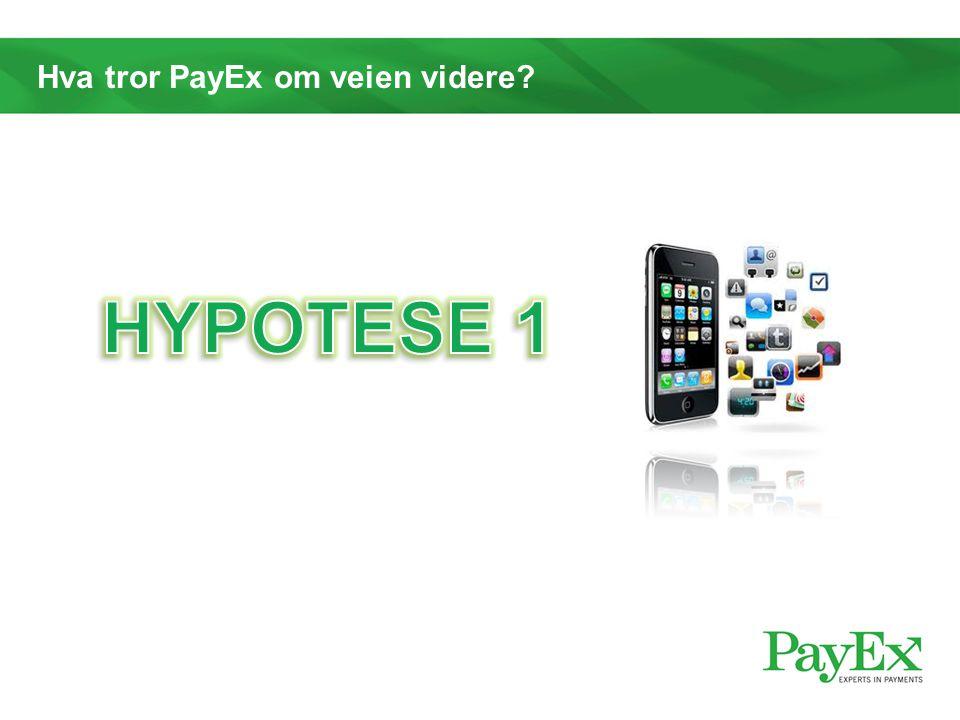 Hva tror PayEx om veien videre?