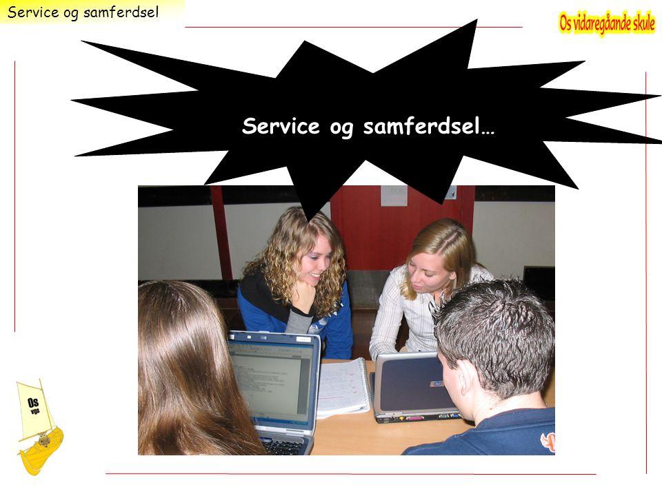…for deg som liker å arbeide med PC Service og samferdsel Service og samferdsel…