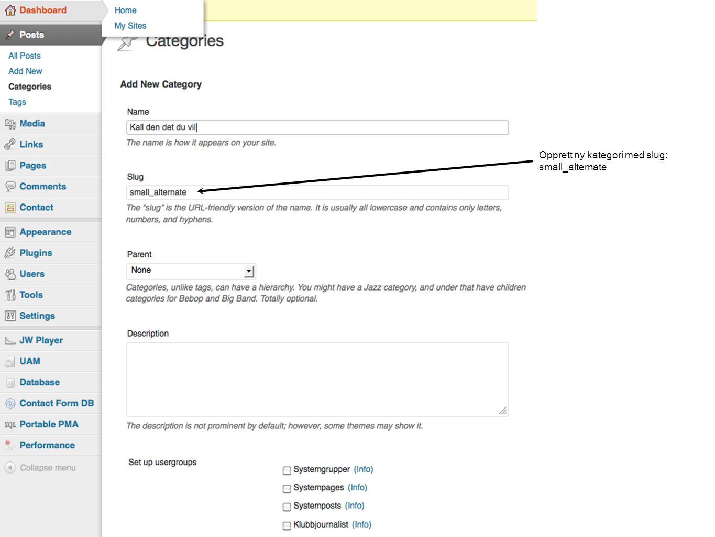 Legg til ekstern link i custom_url felt Last opp bilde og legg bilde url i image_link feltet.