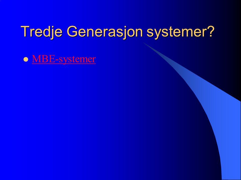 Neste generasjon e-training systemer