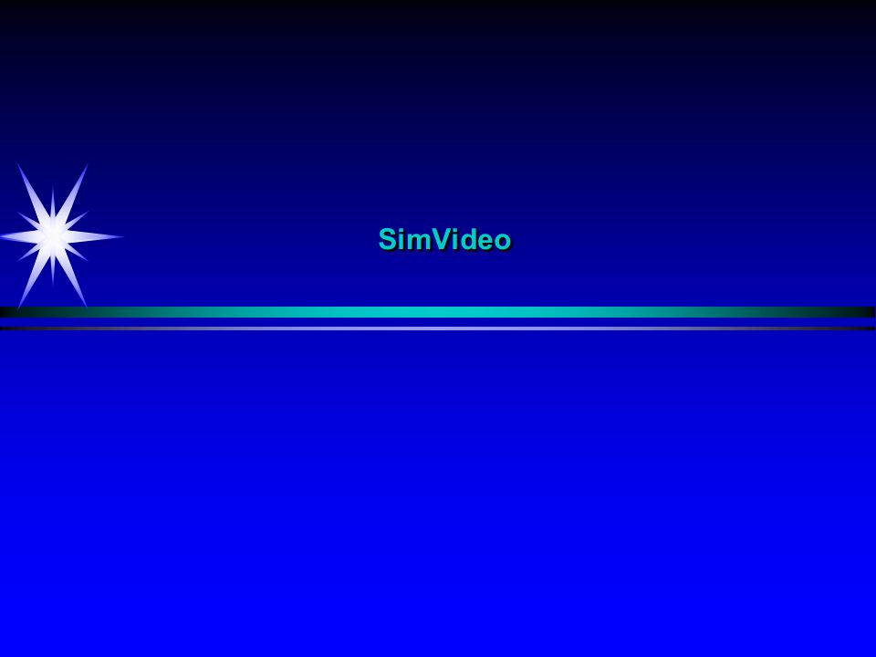 SimVideo Sim - Interaktiv simulering
