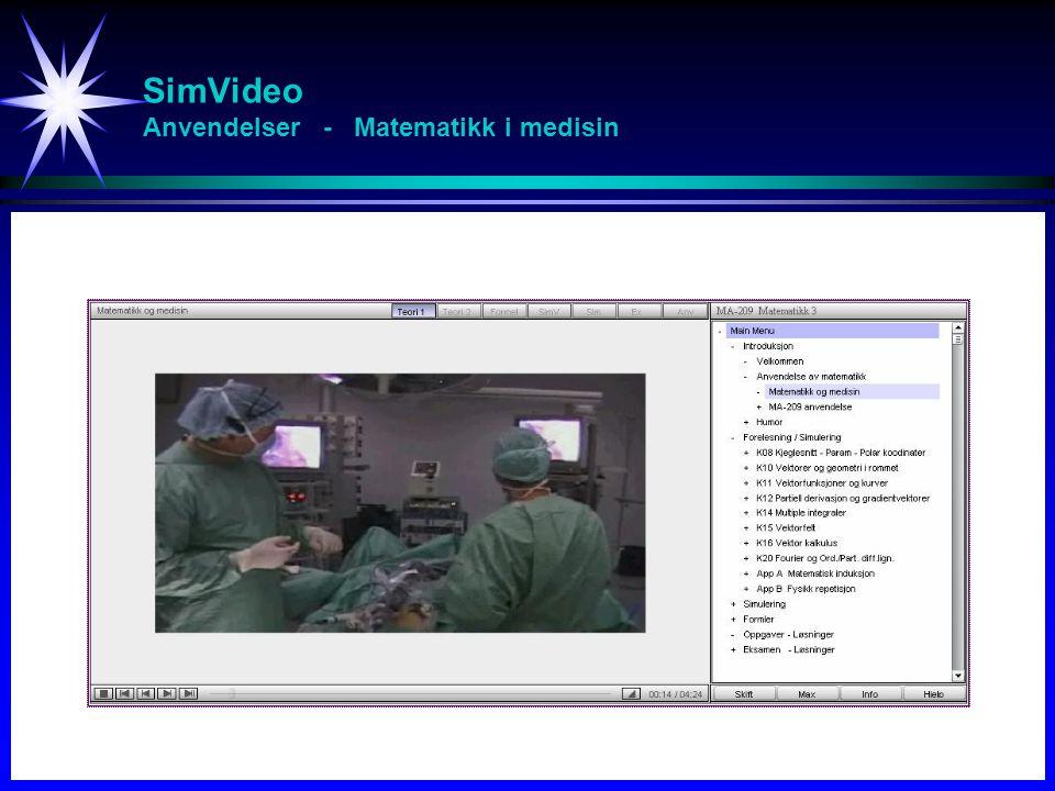 SimVideo Anvendelser - Matematikk i medisin