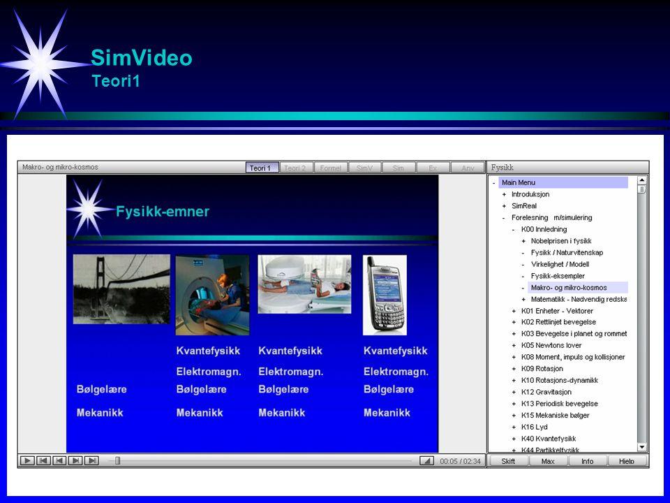 SimVideo Spørreundersøkelse - Tilbakemeldinger fra studenter [2/2]