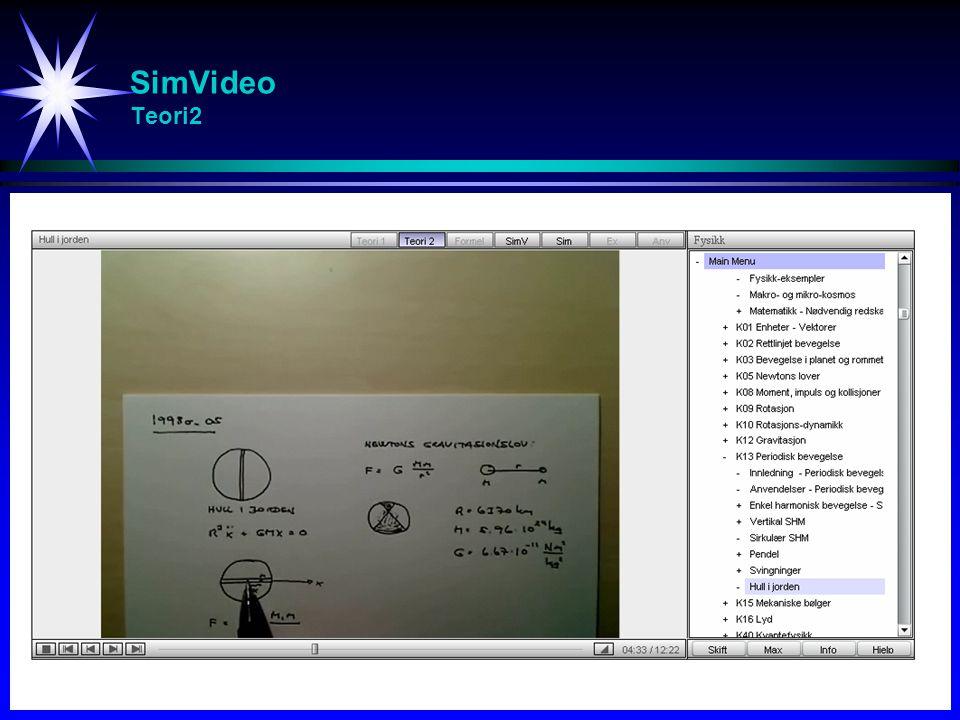 SimVideo Eksamensresultater - Fysikk (FYS105)