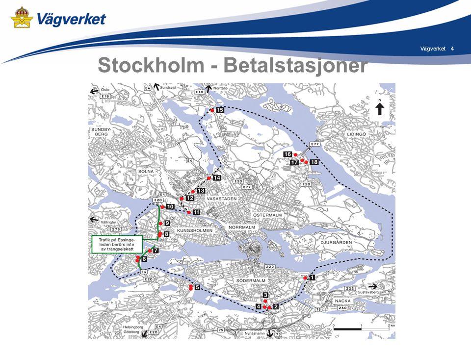 4Vägverket Stockholm - Betalstasjoner