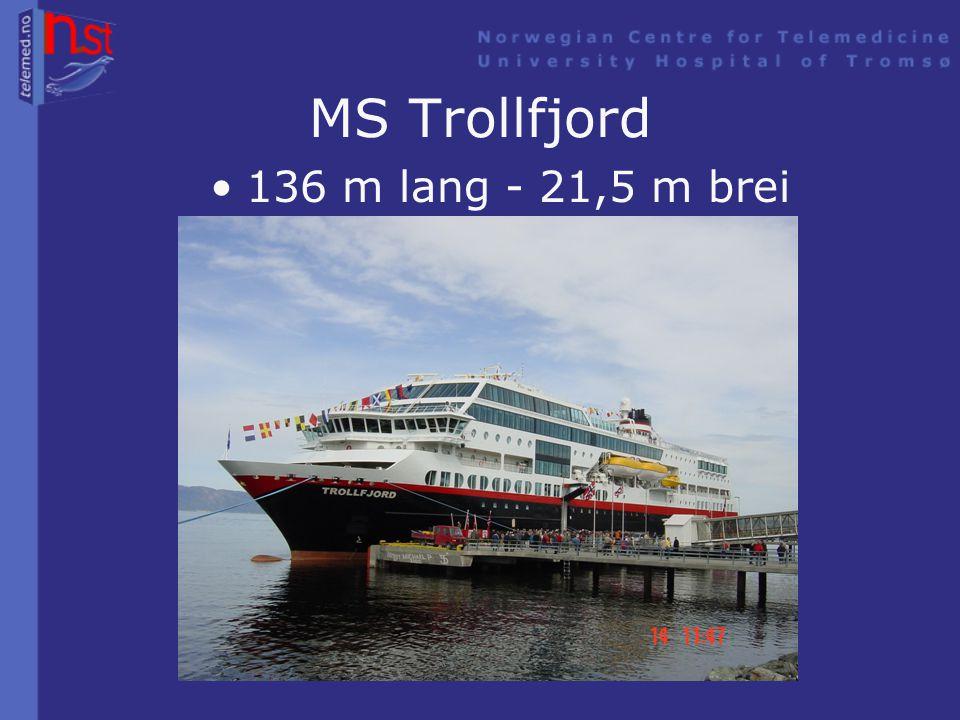 KV Svalbard •103 m lang – 19 m brei