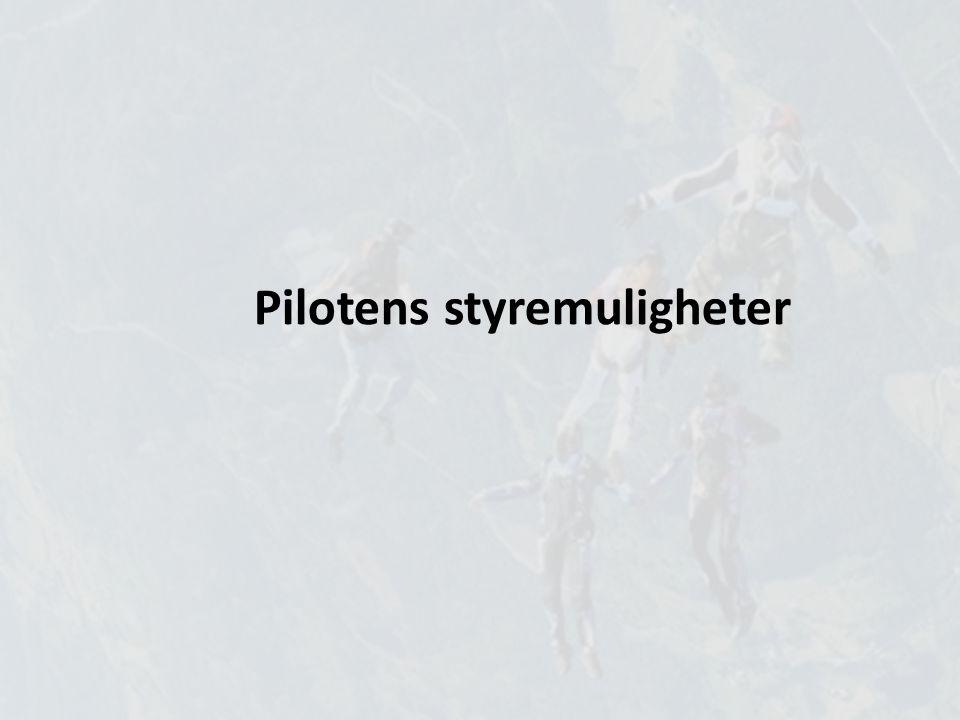 Pilotens styremuligheter