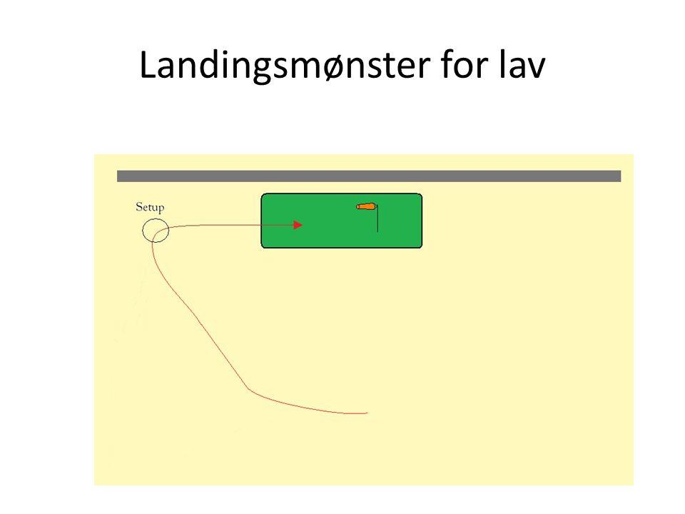 Landingsmønster for lav